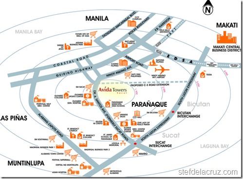 Asian Hospital Map