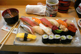My breakfast at Tsukiji - best sushi I ever had