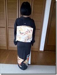 ご自宅に着物の出張着付け (1)