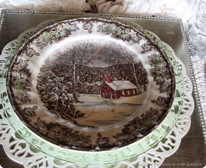 SNOWY TABLESCAPE 4