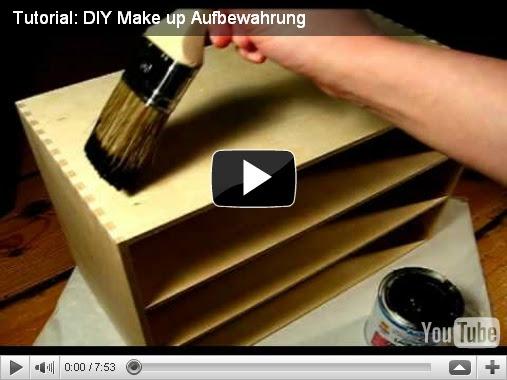 kokiri auf eis tutorial diy make up aufbewahrung. Black Bedroom Furniture Sets. Home Design Ideas