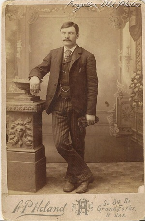 Cabinet Card of a Man from Jen Grand Forks Antique Mall