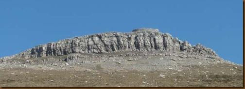 Torre de Urkulu desde el collado