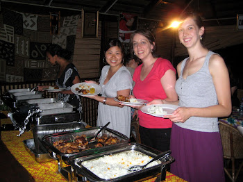 'Opening dinner and Ghanaian Food.' Photo by Sandra Vu