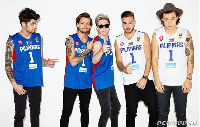 One Direction On the road tour Philippines March 2015