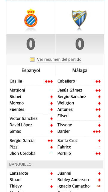 Screenshot_2013-10-29-22-21-04-1 Puntuaciones Espanyol Málaga - Comunio-Biwenger