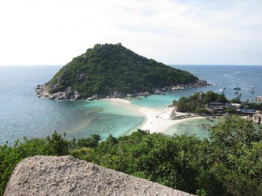 Koh Nangyuan - a small islet off Koh Tao.