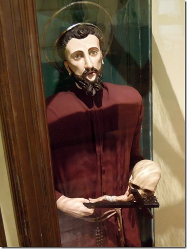 聖方濟各木雕