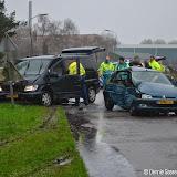 Gewonden bij ongeval aan Industrieweg-West Oude Pekela - Foto's Dennie Gaasendam