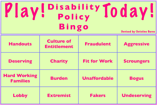 DisabilityBingo