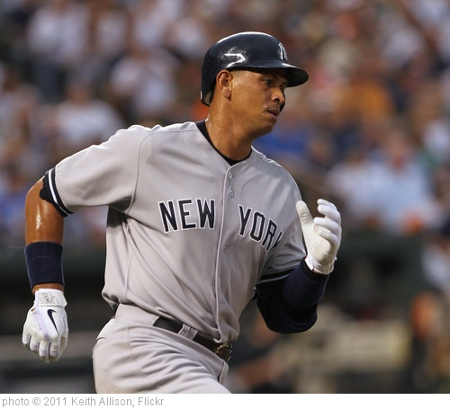 'Alex Rodriguez' photo (c) 2011, Keith Allison - license: http://creativecommons.org/licenses/by-sa/2.0/