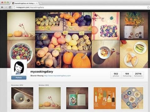 Instagram lanza sus perfiles para la Web