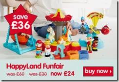 happyland funfair now £24 28-11-2013