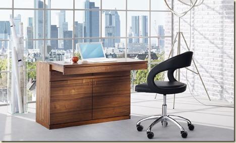 Escritorios de madera para oficinas7