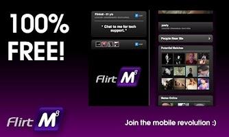 Screenshot of FlirtM8 - Meet, Flirt & Chat