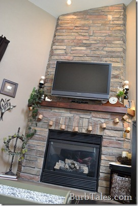 Spring mantel and hearth
