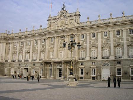 Imagini Spania: Palatul Regal Madrid