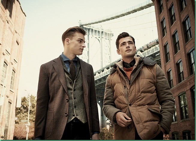 Sean O'Pry for Cambridge Members FW 13 Collection