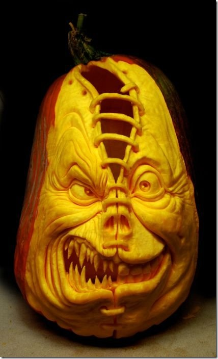 awesome pumpkin carving 17