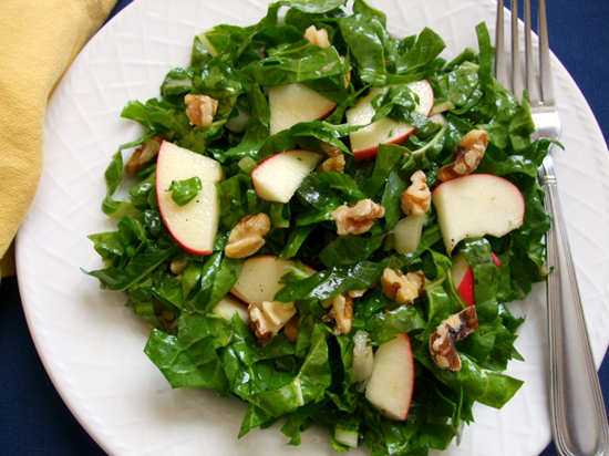 raw chard salad maple 2
