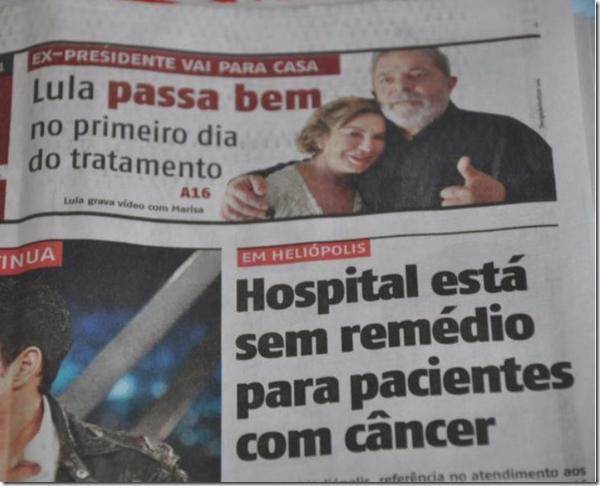 Lula no SUS