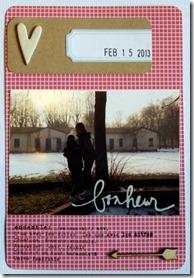card 1 x SKA con foto