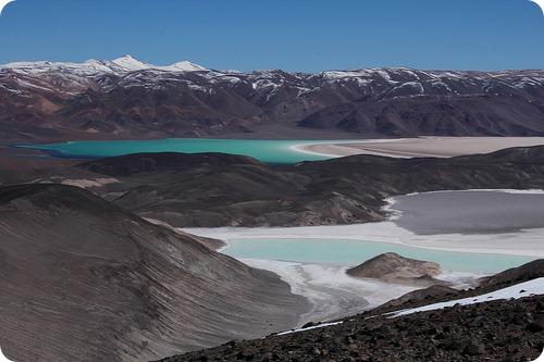 Los mágicos lugares de la Cordillera de los Andes