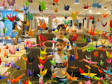 Origami cranes, as well wishes for the people in Sendai after the tsunami http://bit.ly/hqaFYl