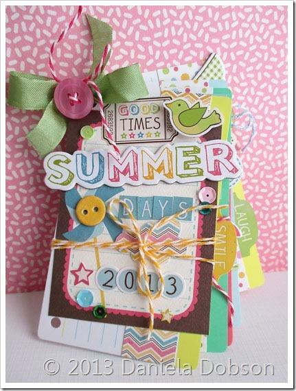 Summer days mini album by Daniela Dobson