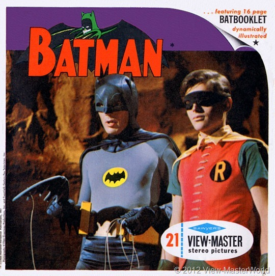 View-Master packet Batman (B492), packet cover