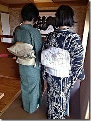 元屋先生の生徒さん転勤で送別会に (2)