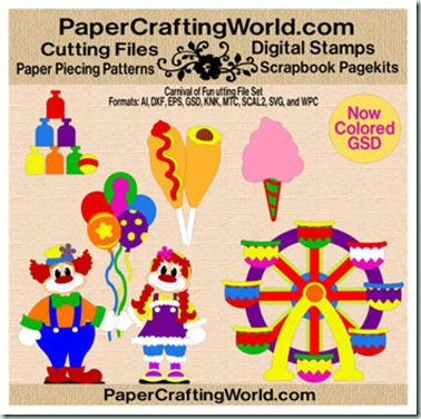 carnival of fun papered-350