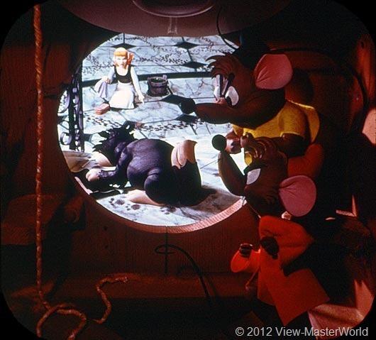 View-Master Walt Disneys Cinderella (B318), Scene 1
