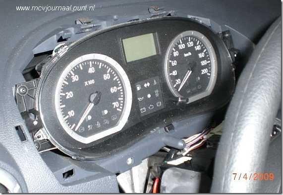 Dashboard Dacia 01