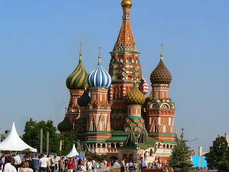 Obiective turistice Rusia: Sf Vasile Blajinul Moscova