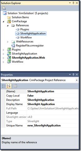 20 - Manage Silverlight Web Resource Properties