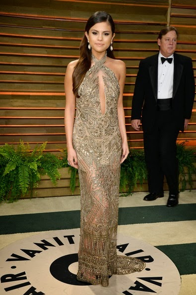 Selena Gomez attends the 2014 Vanity Fair Oscar Party