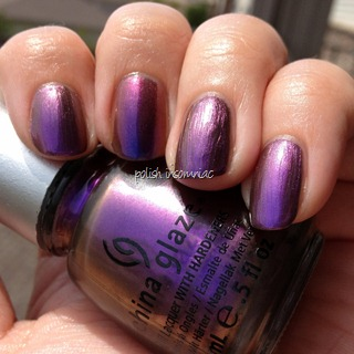 China Glaze No Plain Jane (Ozotic Pro 504 on middle finger) c2