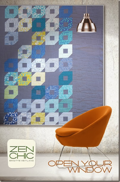 open your window Zen Chic pattern