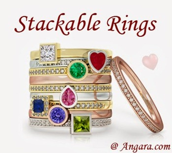 Stackble Bands-and Rings  at Angara.com