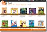 We Give Books – This website is owned by Pearson Foundation, and has hundreds of e-books available for kids to read for free.  In addition, the foundation donates books to kids in need around the world for all of your time spent on this site.  You can sort the books by content and age appropriateness.