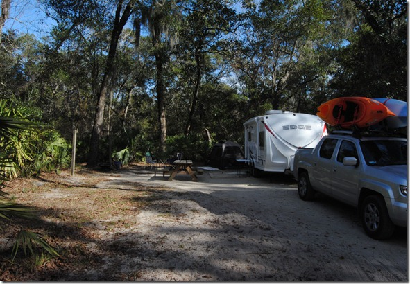 Site #22 at Faver Dykes Campground