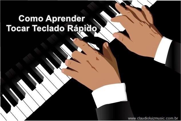 como aprender a tocar teclado