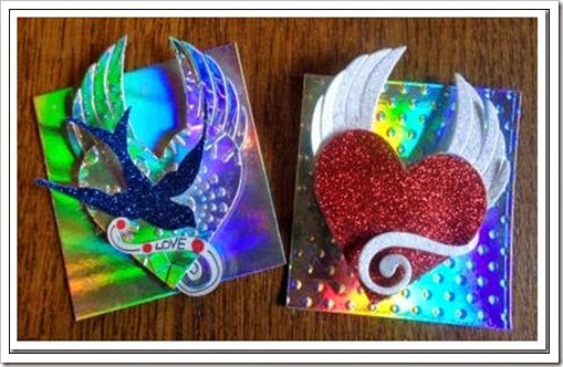 winged heart fridge magnets