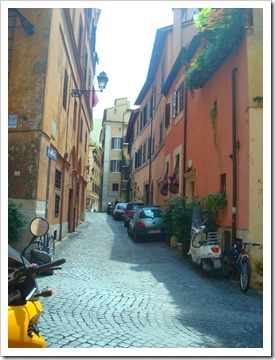 side streets in rome