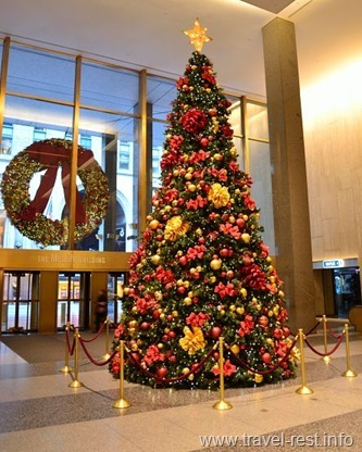 Christmas tree MetLife