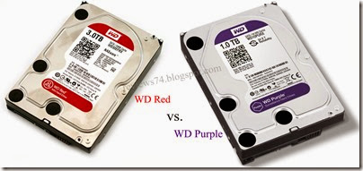 Western Digital Purple vs Red