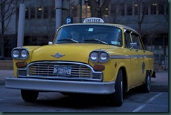 NYC Taxi from wikimedia commons