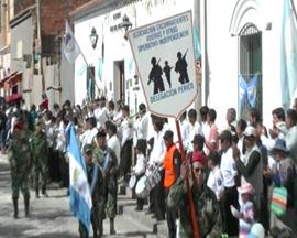 Desfile 25 de Mayo - Tilcara - Operativo Independencia