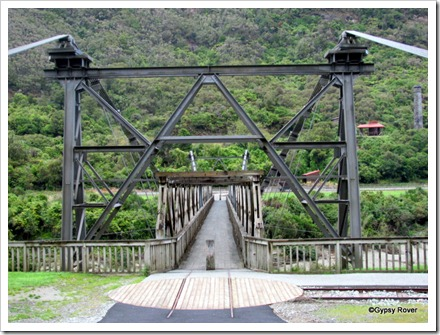 Ten ton of coal loaded in a railway wagon passed over this bridge every 5 minutes.